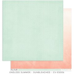 Cocoa Vanilla Endless Summer 12 x 12 Cardstock Sunbleached