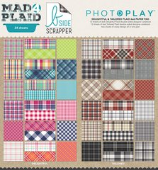 Photoplay Mad 4 Plaid Combined 6 x 6 Paper Pad