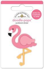 Doodlebug Design Fun in the Sun Doodle Pops Pink Flamingo
