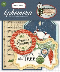 Christmas Wonderland Ephemera Pack