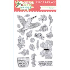 PhotoPlay Spread Your Wings Photopolymer Stamps