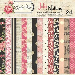 Photoplay Julie Nutting Belle Vie 6 x 6 Paper Pad