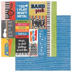 PhotoPlay Band Geek I'm in The Band 12 x 12 Cardstock