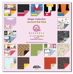 Queen & Co. Magic Collection Around the Park 12 x 12 Mat Stack
