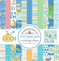 Doodlebug Design Anchors Aweigh 12 x 12 Paper Pack