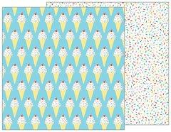 PEBBLES HAPPY HOORAY 12 X 12 CARDSTOCK Sprinkles on Top 732482