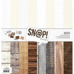 Simple Stories Basics 12 x 12 Paper Kit