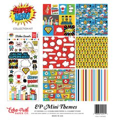 Echo Park Superhero 12 x 12 Mini Collection Kit