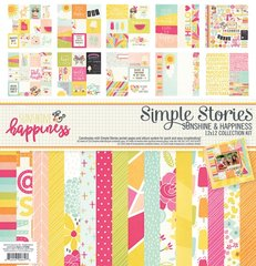 Simple Stories Sunshine & Happiness 12 x 12 Collection Kit