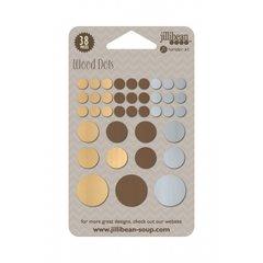 Jillibean Soup Mushroom Medley Wood Dots