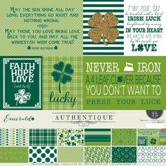 Authentique Emerald 12 x 12 Collection Kit