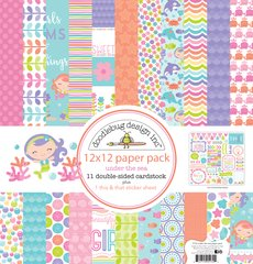 Doodlebug Design Under the Sea 12 x 12 Paper Pack