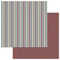 PhotoPlay Man Card Stripes 12 x 12 Cardstock