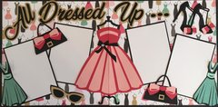 ALL DRESSED UP LAYOUT KIT BY SCRAPBOOKING WITH MRS. C