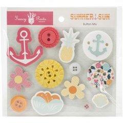 Fancy Pants Summer Sun Button Mix