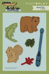 Photo Play Paper - Die Set 2525 - Campfire and Lakeside