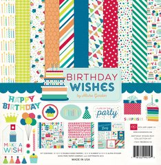 12 x 12 Birthday Wishes Collection Kit