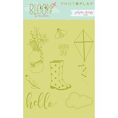 PhotoPlay Bloom Polymer Stamps