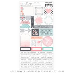 Cocoa Vanilla Love Always Accessory Stickers