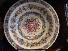 Trebel Hand Painted Porceline Dish