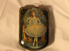 Russian Hand Painted Laquer Box