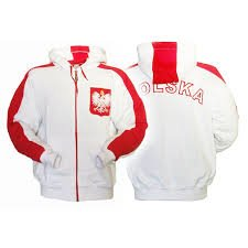 Sweat shirt White Polska