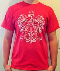Polish Eagle Tshirt Red