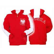 Sweat Shirt Red Polska