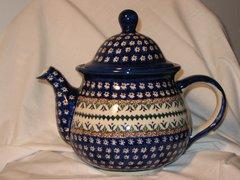 Boleslawiec Tea Pot Daisy