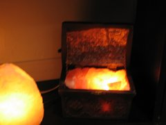 Wieliczka Salt lamp Treasure Chest