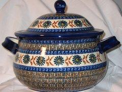 Boleslawiec Soup Tureen Aztec