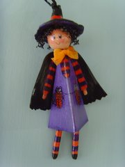 Tiny Witch Pattern and Kit