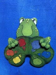 Trio of Frogs pattern and 1 kit