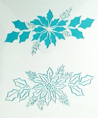 Poinsettia Stencil Click to see more options