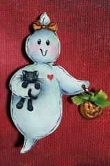 Ghostly Friends Pattern and 1 kit