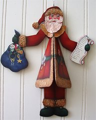 Santa Windchime Pattern and Kit