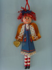 Raggedy Ann Angel pattern, 1 kit with Rear View Mirror attachment
