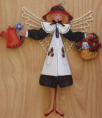 Cherry the Angel Windchime Pattern and complete Kit