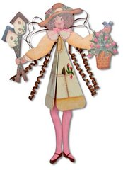 Grace the Garden Fairy Windchime Pattern and Kit