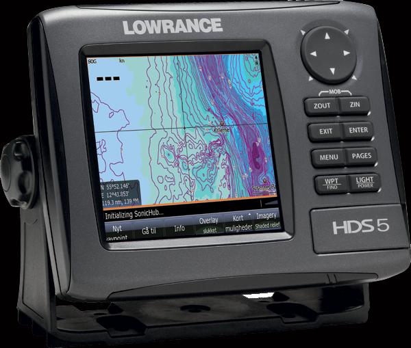Lowrance Hds 5 Gen2 G P S Chartplotter Fishfinder W