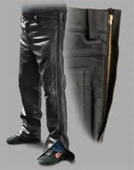 Leather Motorcycle OverPants