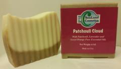 """""""Patchouli Cloud"""" Natural Soap with Patchouli & Lavender"""