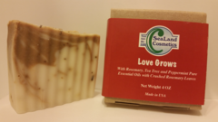 """Love Grows"" Soap with Rosemary"