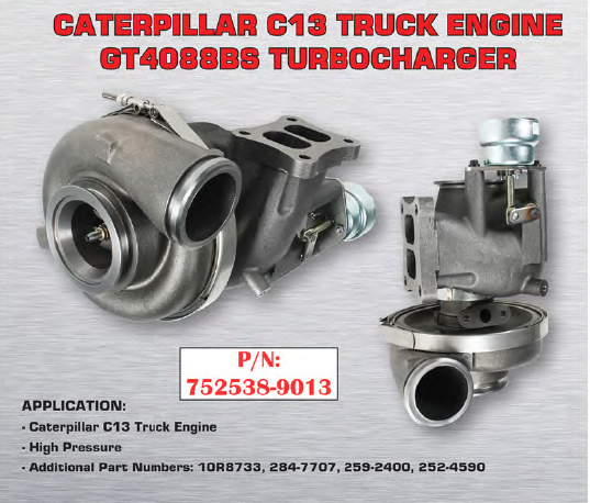 S Big Cat High Performance Turbocharger