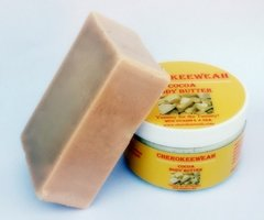 Cocoa Butter and Organic Soap