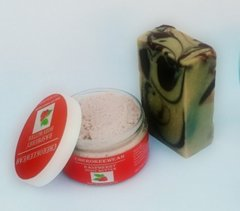 Raspberry Body Butter and Organic Soap