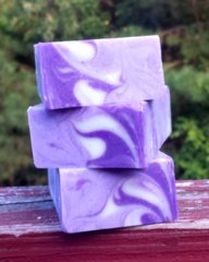 Lavender Lather Soap Organic without lavender bus