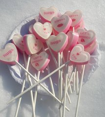 A Dozen Heart Soap Pops! SUPER SALE!!!