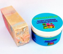 Baby Powder Body Butter and Organic Soap