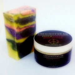 Psychadelic Body Butter and Organic Soap